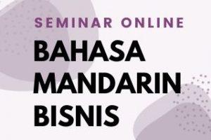 Seminar Online – Mandarin UM